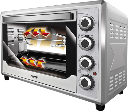 Electric Oven With Convection Mode Mpm Wyposażenie