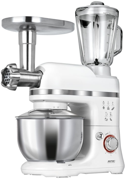 Kneading Machine Kitchen Stand Mixer Food Processor Meat Grinder 1200W 5L Bowl